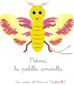 Petina, la polilla amarilla